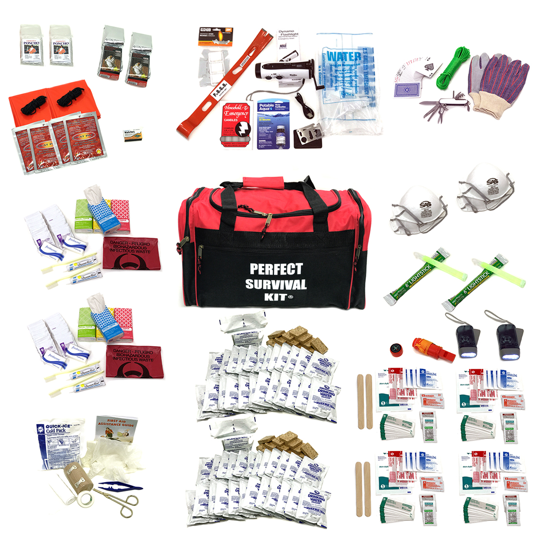 4 Person Survival Earthquake Evacuation Emergency Disaster