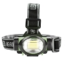 200 Lumen  3 Watt Energy Efficient COB LED Headlamp (Green)