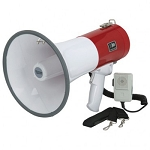 50 Watt Megaphone with Safety Siren