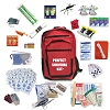 Deluxe 2-Person Survival Kit for Emergency Disaster Preparedness for Earthquake, Hurricane, Fire, Evacuations, Auto, Home and Family (COPY)
