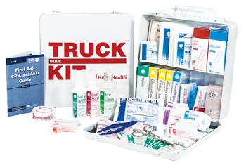 TRUCK KIT, HART, bulk fill, large, metal box