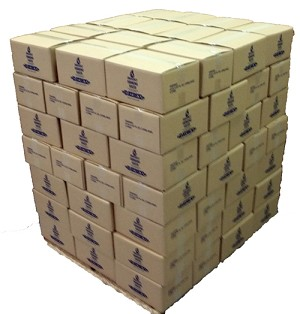 Datrex Emergency Water Pouches - full pallet - 98 cases 64 Pouches per case