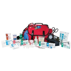 DELUXE FIRST RESPONDER TRAUMA KIT FULLY STOCKED